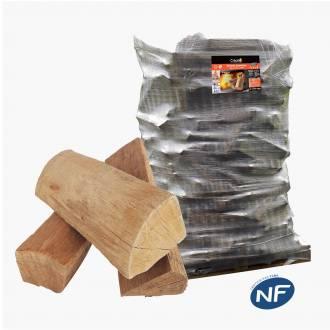 Bûche de bois PREMIUM en 30 ou 40 CM
